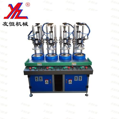 四工位连续式自动卷边机